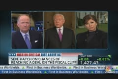 Sen. Hatch on Chances of Reaching Debt Deal