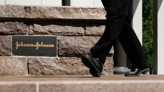 Johnson & Johnson headquarters in New Brunswick,