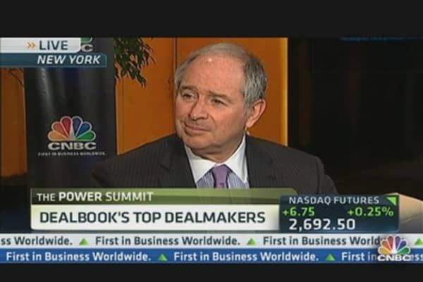 Schwarzman: Need to Find Common Ground