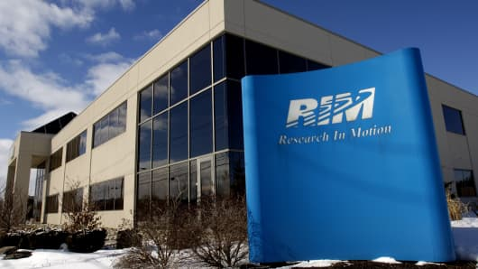 Research in Motion headquarters in Waterloo, Canada.