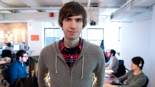 David Karp, Tumblr founder.