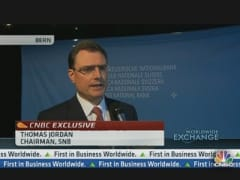 SNB Chairman: I Expect Swiss Franc to Weaken Over Time