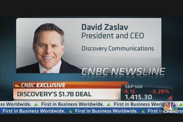 Discovery CEO Growing Overseas Portfolio