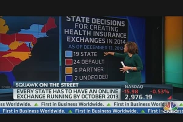 Health Exchanges: States In, States Out?