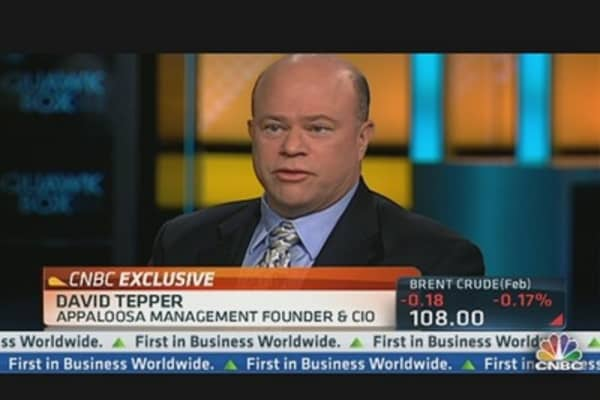 Tepper: 'Pretty Good Economy, Right Now'