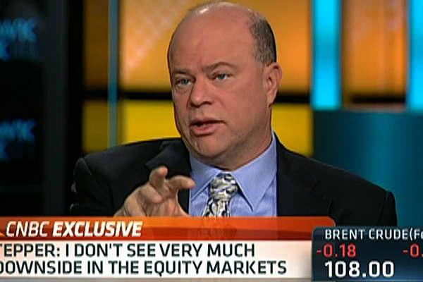 Tepper: Not Much Downside in Markets