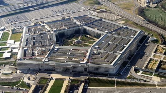 The Pentagon building in Washington, D.C.