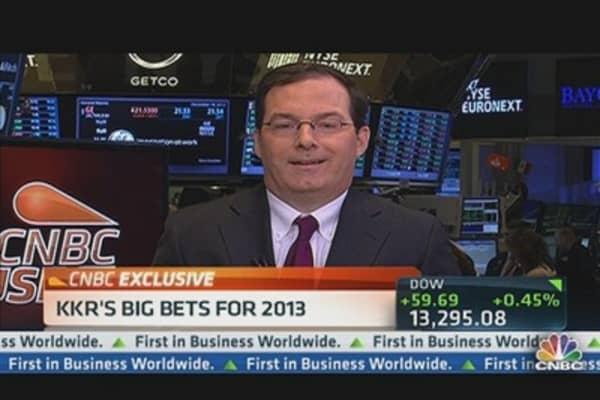 KKR's Big Bets for 2013