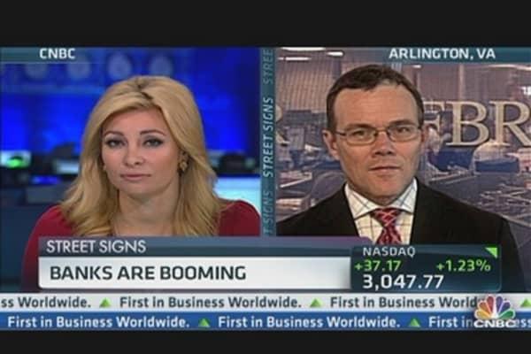 Housing & GDP Drive Banks