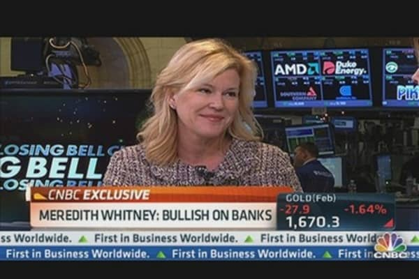 Meredith Whitney: Bullish on Banks