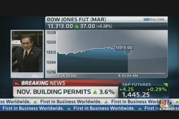 November Housing Starts Slide 3.0%