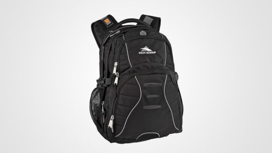 Bullet blocking backpack