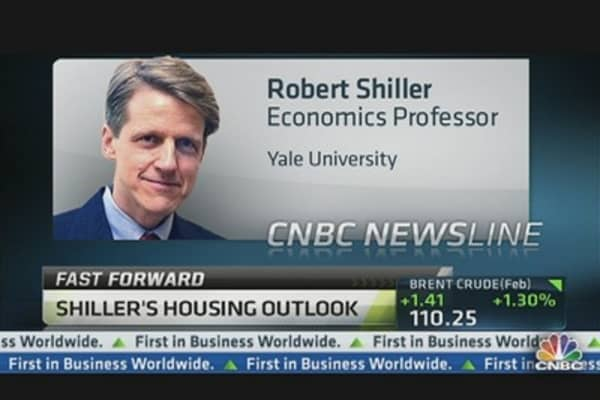 Robert Shiller: Don't Await Housing Boom