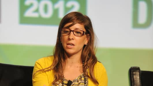 Leah Busque is the founder of TaskRabbit, an online marketplace that oursources small jobs and errands.