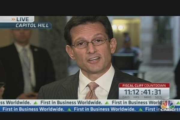 Cantor: 'Plan B' Will Pass
