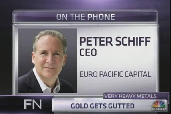 Schiff: Why the Pain for Gold Has Just Begun
