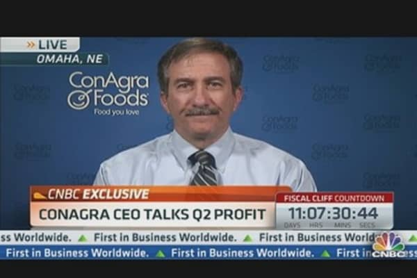 ConAgra CEO Talks Q2 Profit