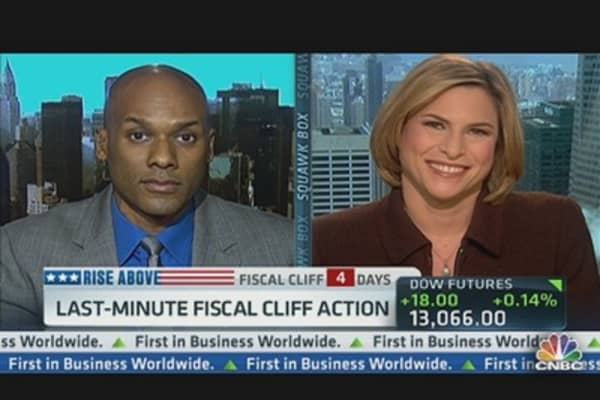 Last-Minute 'Fiscal Cliff' Wrangling