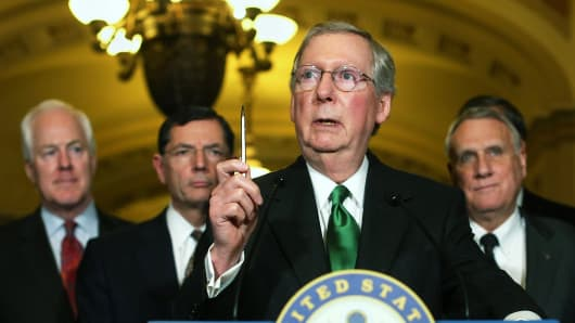 U.S. Senate Minority Leader Senator Mitch McConnell