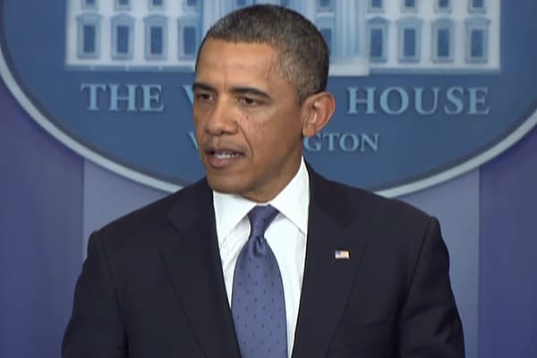 Obama 'Modestly Optimistic' For 'Cliff' Deal
