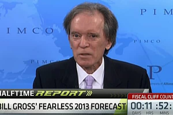 Pimco's Bill Gross: Fearless 2013 Forecasts