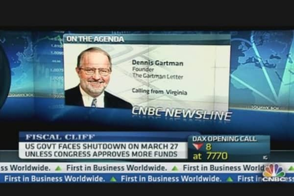 Dennis Gartman: Nasty, Vile, Despicable Legislation