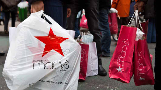 Macy's shoppers