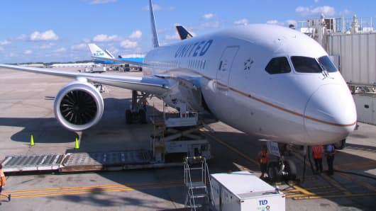 United Airlines Boeing 787 Dreamliner