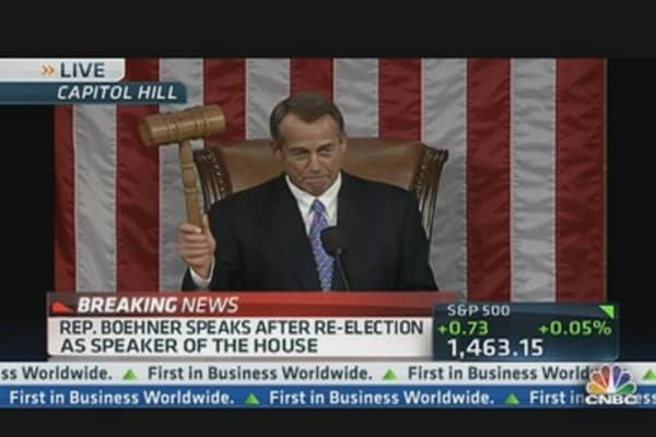 Boehner: Economy Has Too Much Debt