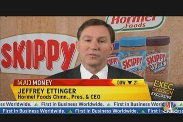 Hormel Foods CEO: Excited About Profit Potential From Skippy