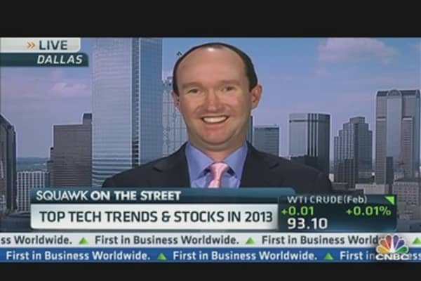 Top Tech Trends & Stocks in 2013