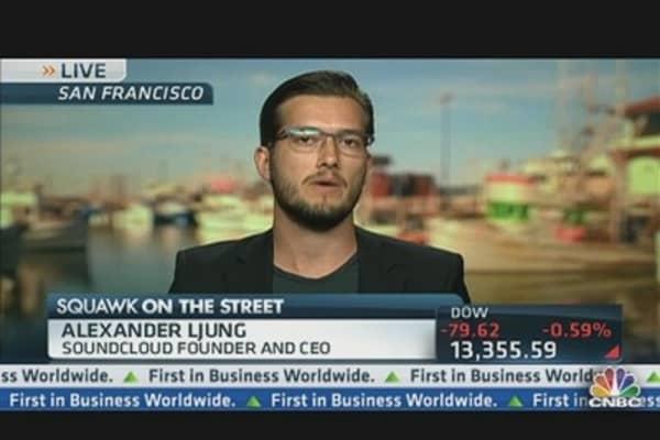 SoundCloud CEO Sounds Off