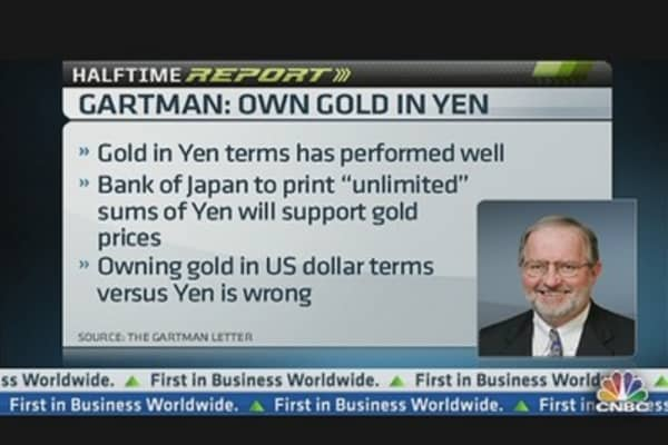 Gartman on Gold: It Depends on the Currency