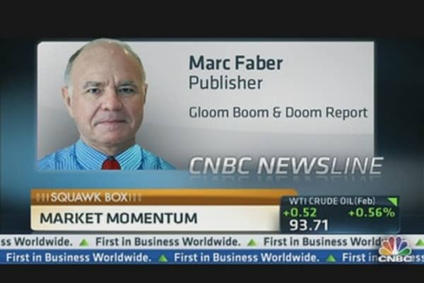 Faber: Gold As 'Insurance Policy'