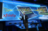 Kirk Skaugen, Intel Vice President,  speaks during an Intel press conference at the 2013 International CES.