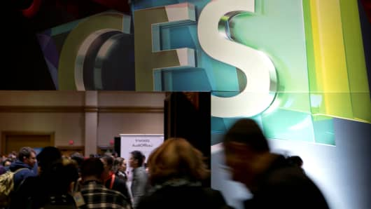 The 2013 International Consumer Electronics Show in Las Vegas, Nevada.
