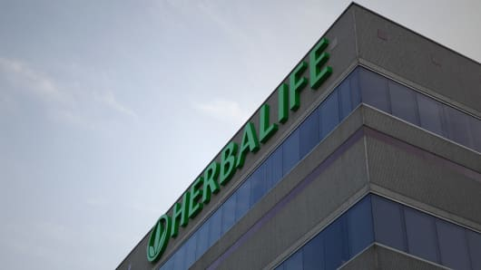 Herbalife headquarters in Los Angeles, California.