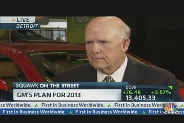 GM's Ackerman: 'Margins Will Expand' by 2014
