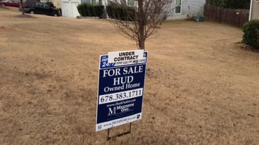 Foreclosures are selling fast.