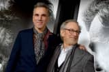Daniel Day-Lewis and Steven Spielberg at the &quot;Lincoln&quot; premiere in November in Hollywood.