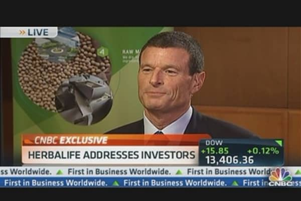 Herbalife CEO Defends His Company