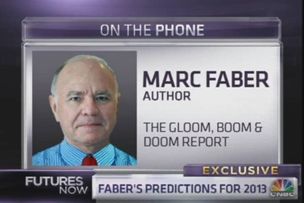 Marc Faber: Here's What Will Happen in 2013