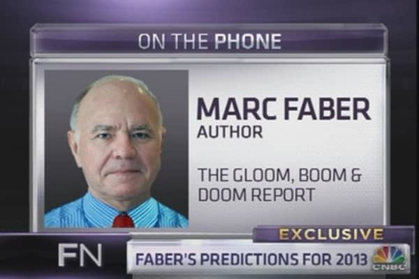 Faber: Here's What Bonds Will Do In 2013