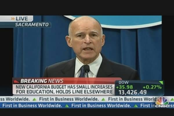 California Budget Deficit Disappears