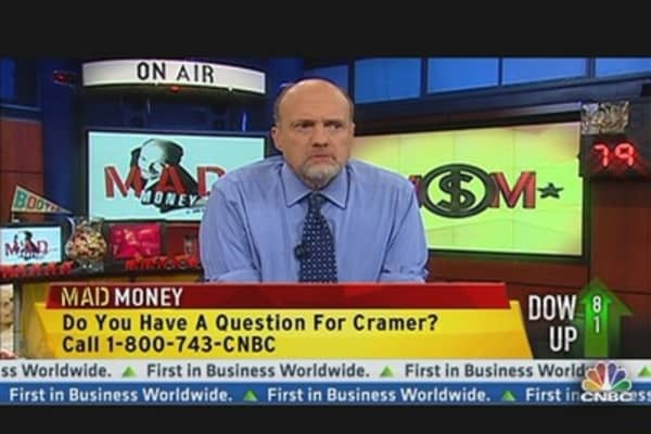 Cramer Focuses on Oil, Gas & Cellphones