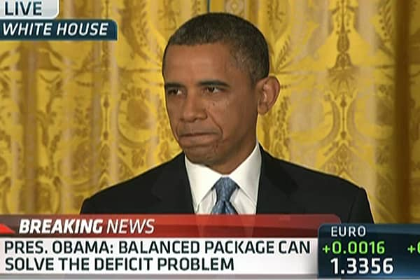 Obama to GOP: I Won't Pay 'Ransom' for Economy