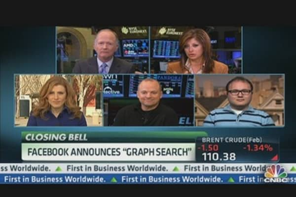 Facebook Announces 'Graph Search'