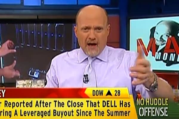 No Huddle Offense: Cramer Dishes on Dell