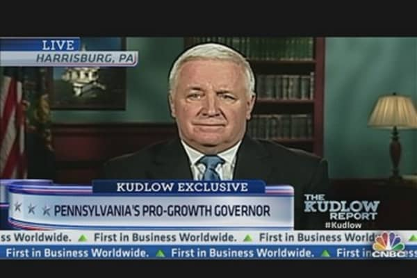 Pennsylvania's Pro-Growth Governor