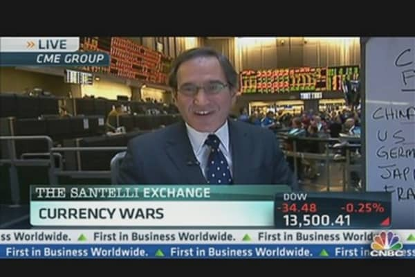 Santelli's Currency War Strategies